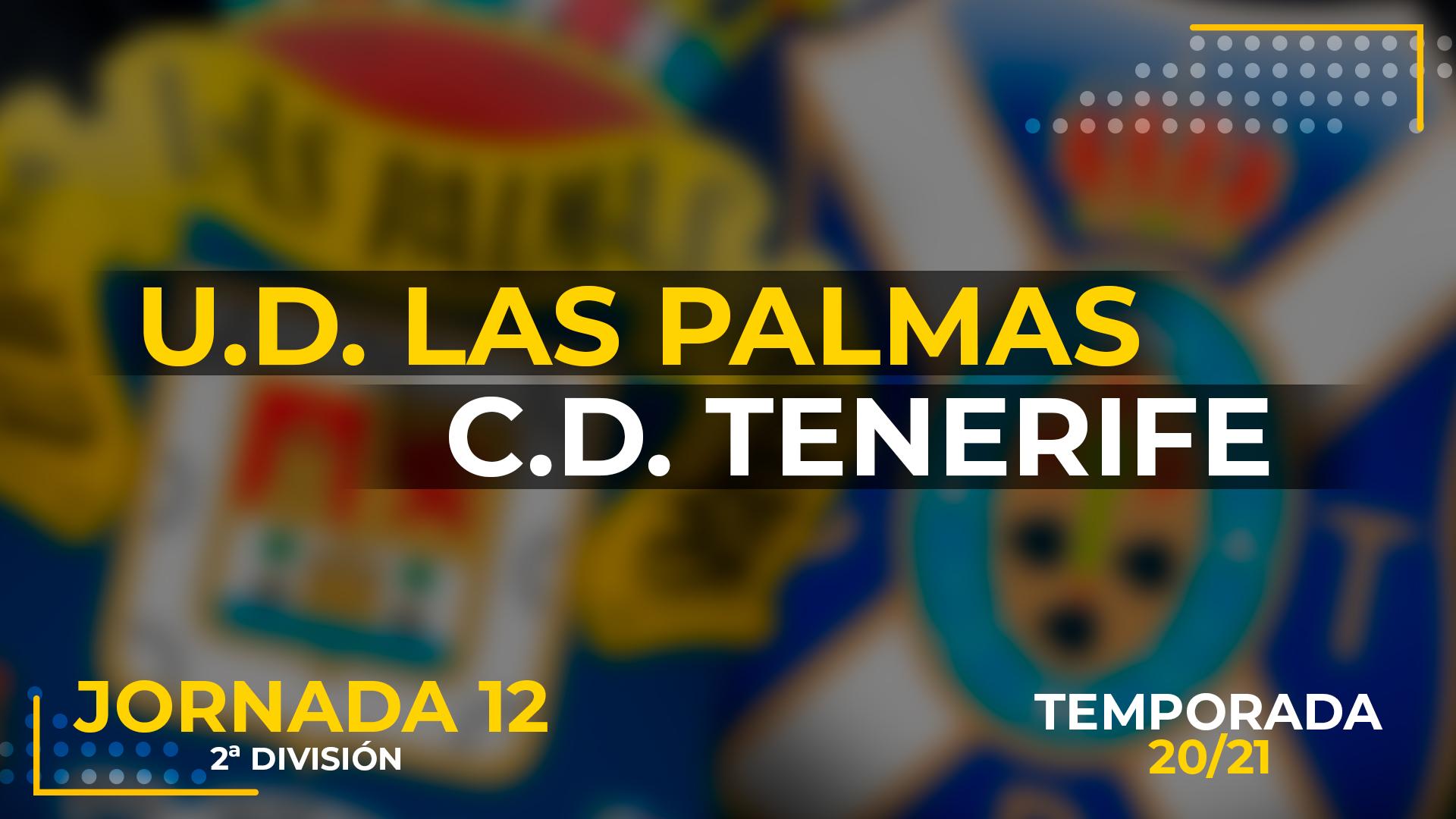 UD Las Palmas vs Tenerife
