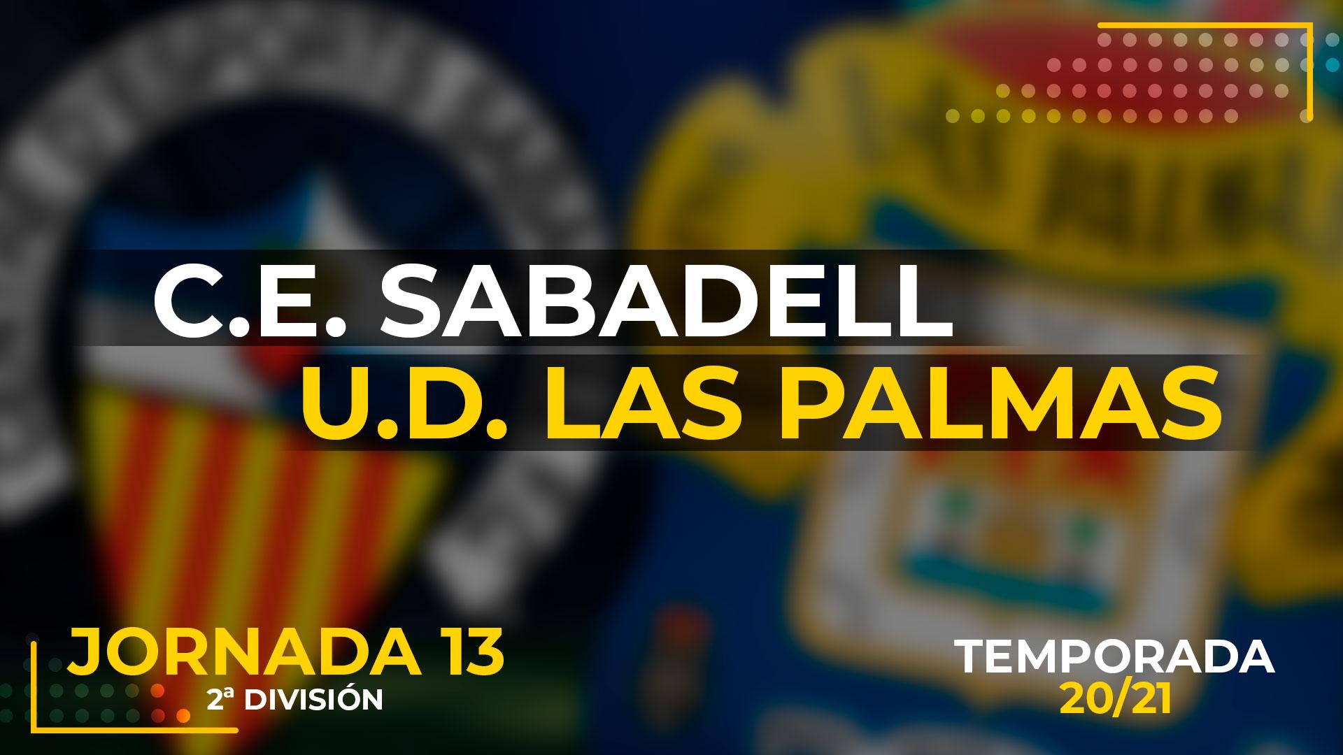 Sabadell vs UD Las Palmas