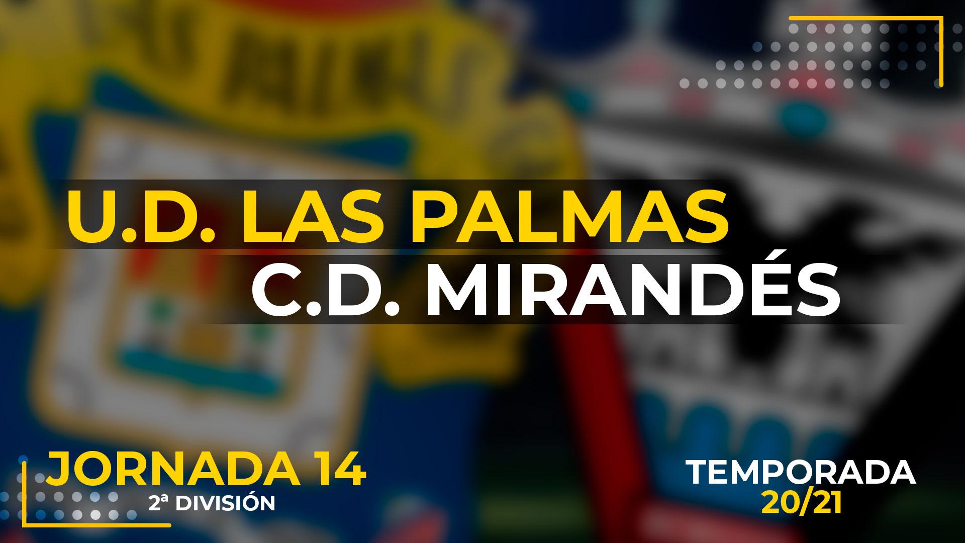 UD Las Palmas vs Mirandés