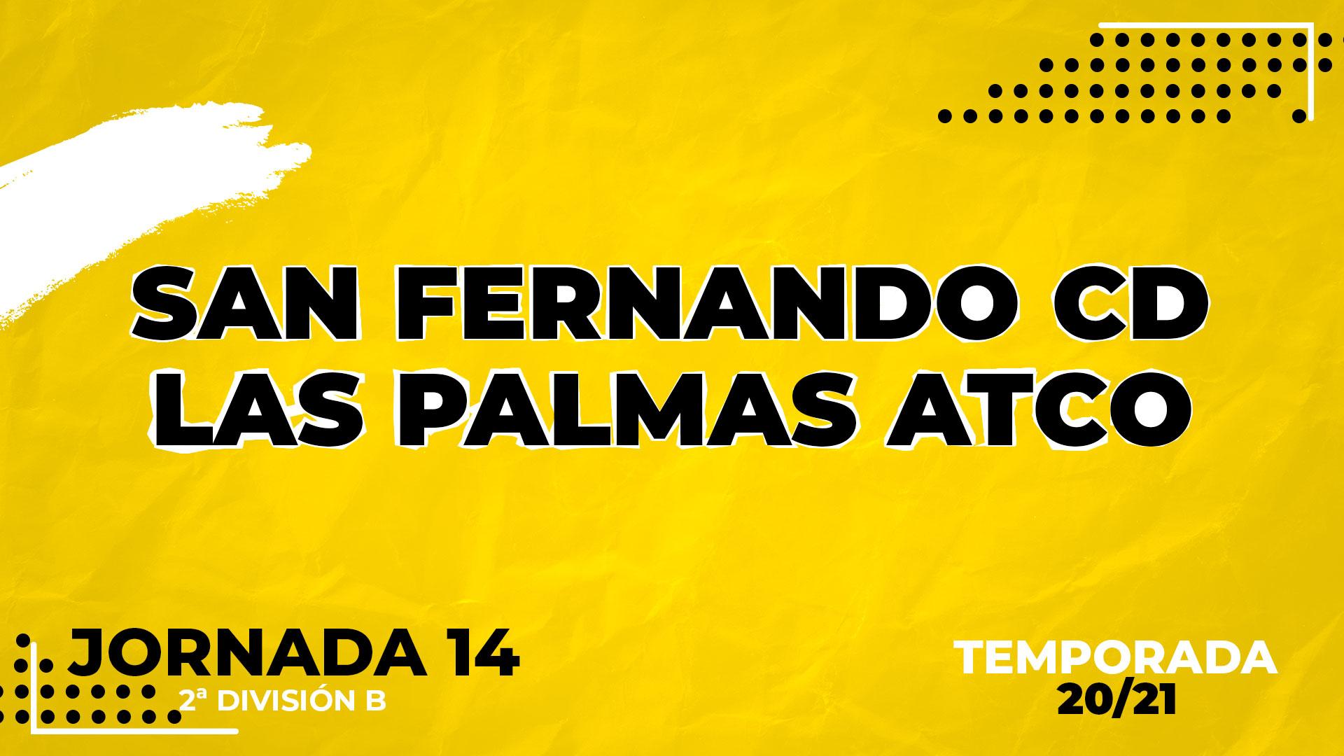 San Fernando vs Las Palmas Atlético