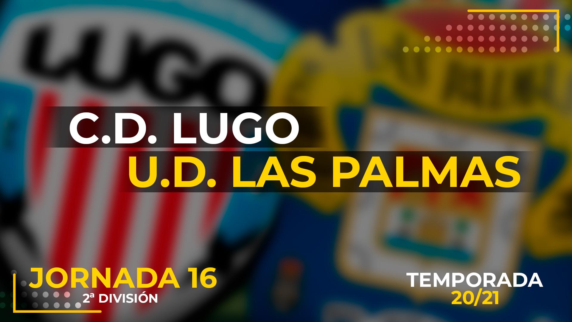 Lugo vs UD Las Palmas