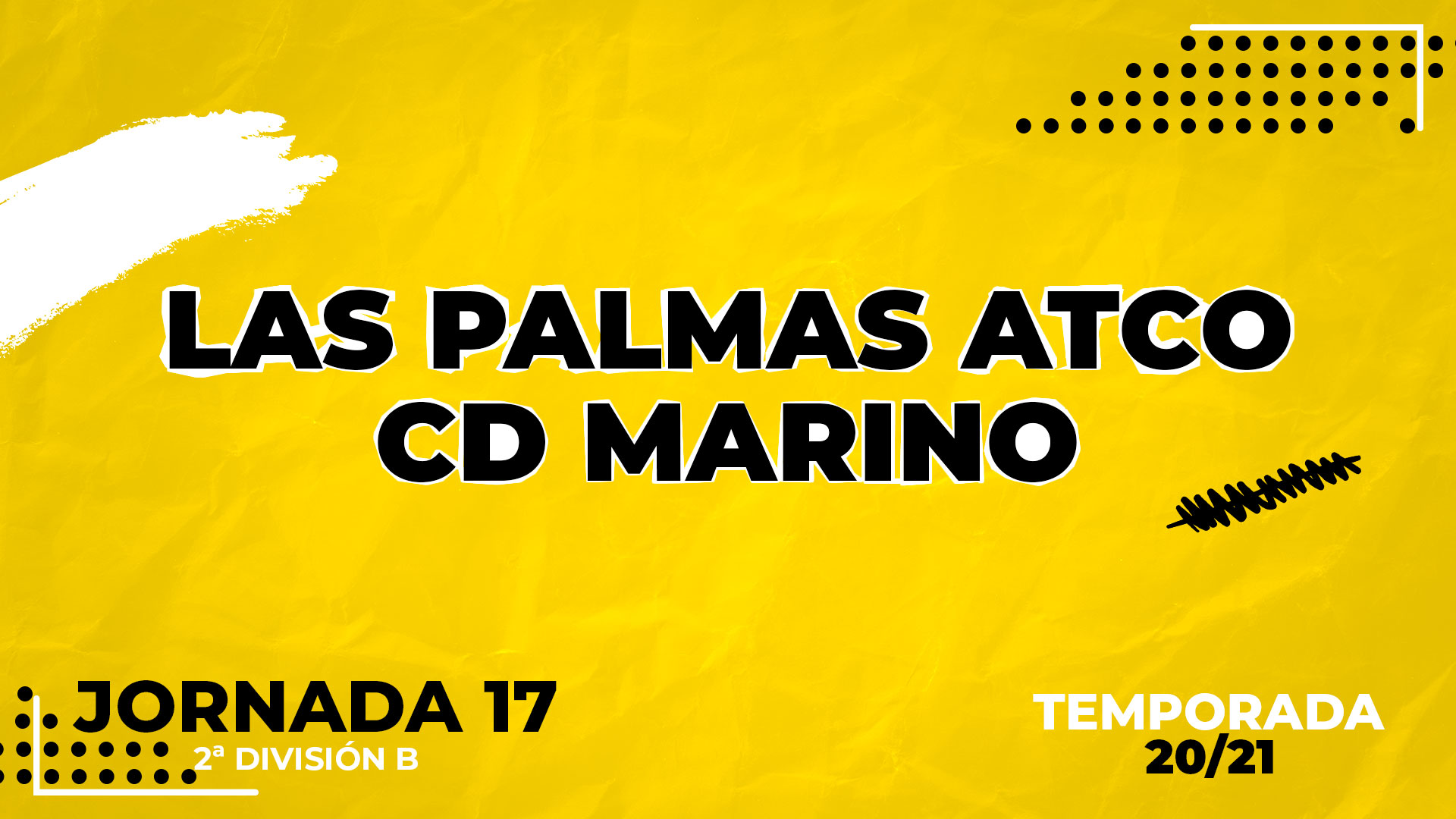 Las Palmas Atlético vs Marino