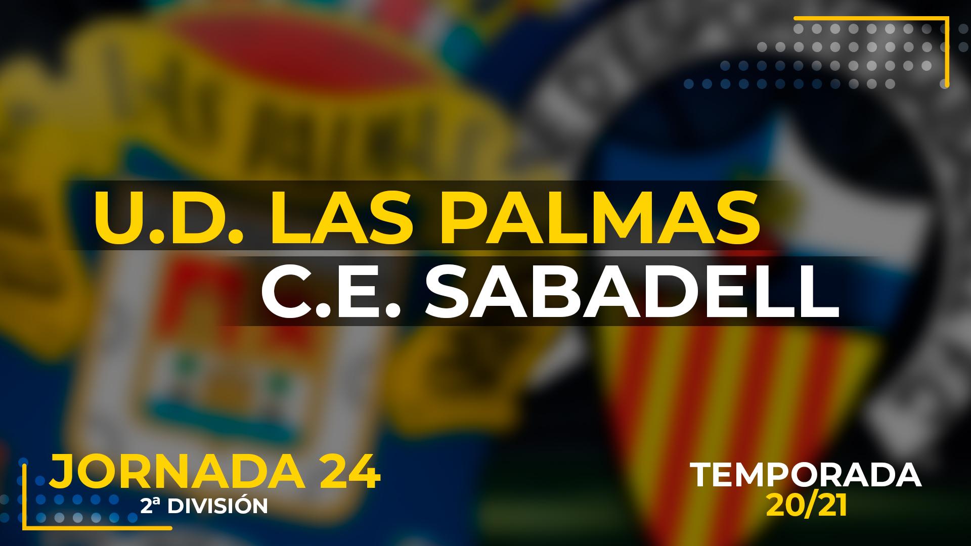 UD Las Palmas vs Sabadell