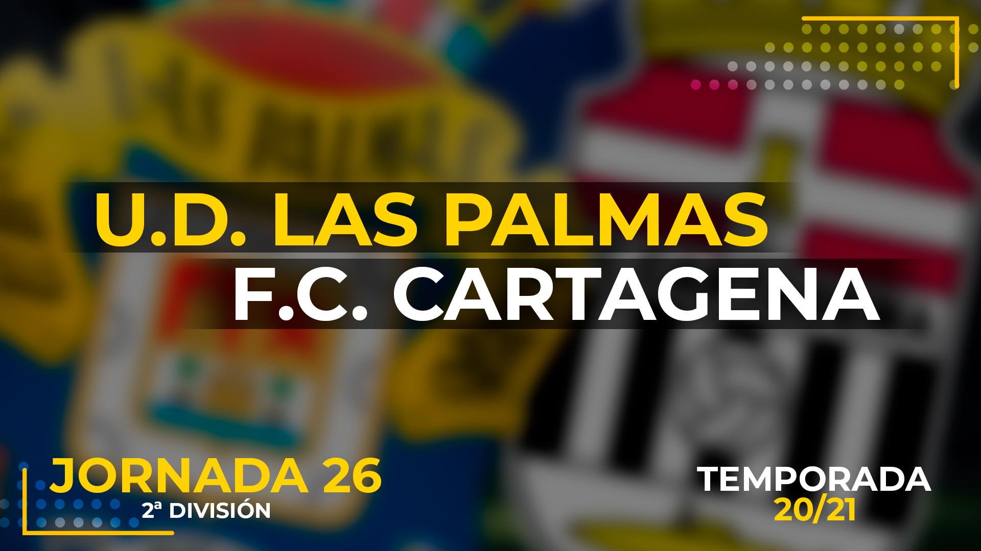UD Las Palmas vs Cartagena