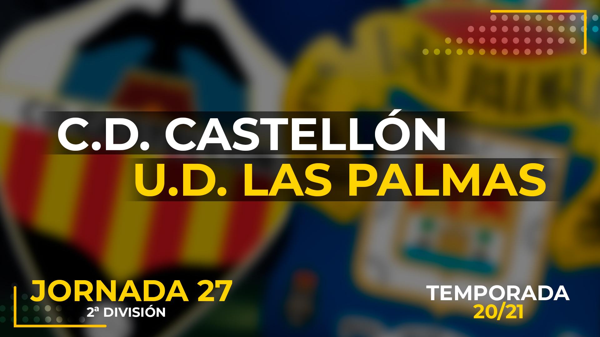 Castellón vs UD Las Palmas
