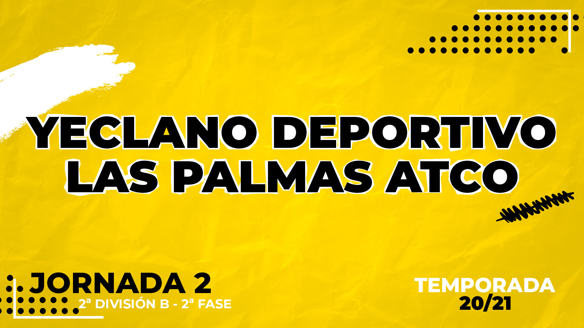 Yeclano vs Las Palmas Atlético