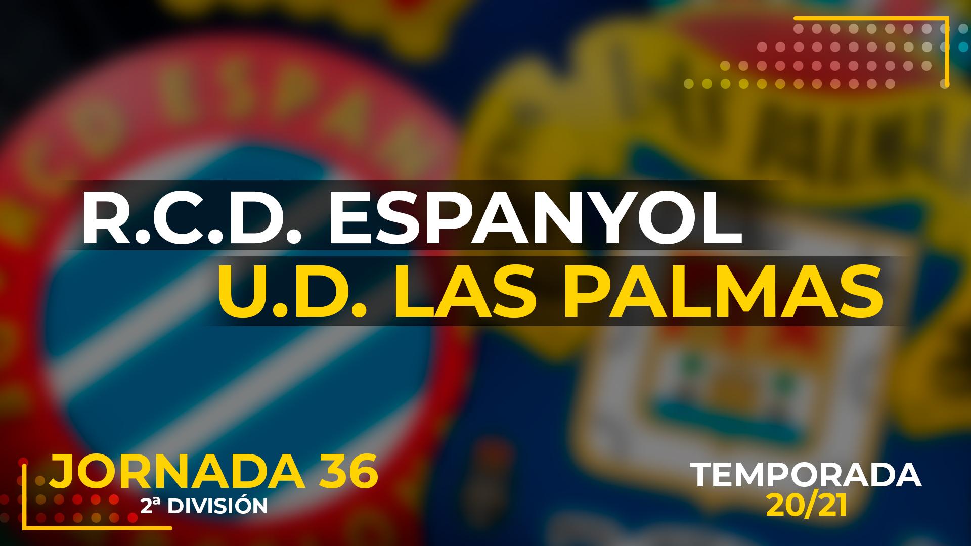 Espanyol vs UD Las Palmas
