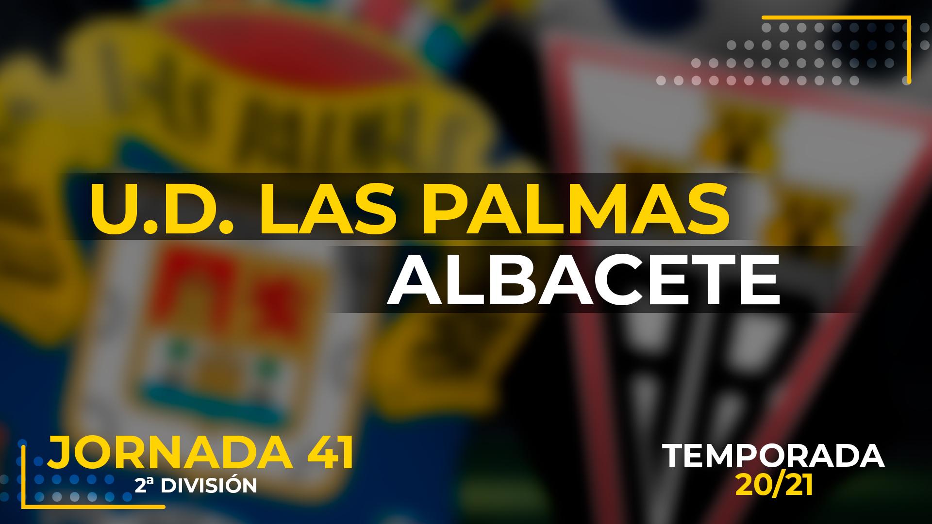 UD Las Palmas vs Albacete